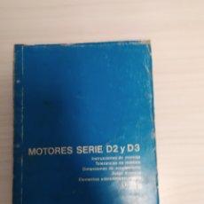 Coches y Motocicletas: MOTORES BARREIROS SERIE D2 Y D3. Lote 220898293