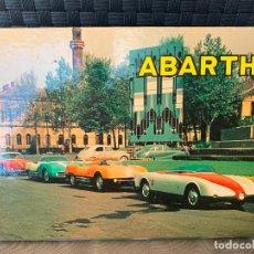 Coches y Motocicletas: ABARTH GUIDE FAZA ALFRED COSENTINO. Lote 221108218