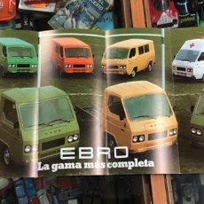Voitures et Motocyclettes: CATALOGO PUBLICITARIO ORIGINAL EBRO F-260 Y F-275. Lote 221131052