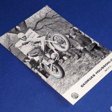 Coches y Motocicletas: TARJETA POSTAL ORIGINAL MOTOCICLETA MONTESA GEORGES HOUSSONLOGE MOTO-CROSS. Lote 221166150