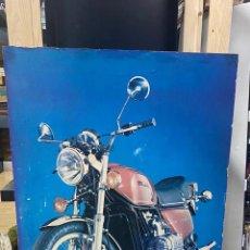 Coches y Motocicletas: CARTEL WYNNS MOTO PÙBLICIDAD AÑOS 70. Lote 221387678