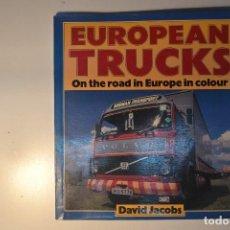 Coches y Motocicletas: LIBRO CAMIONS EN EUROPA. Lote 221744548