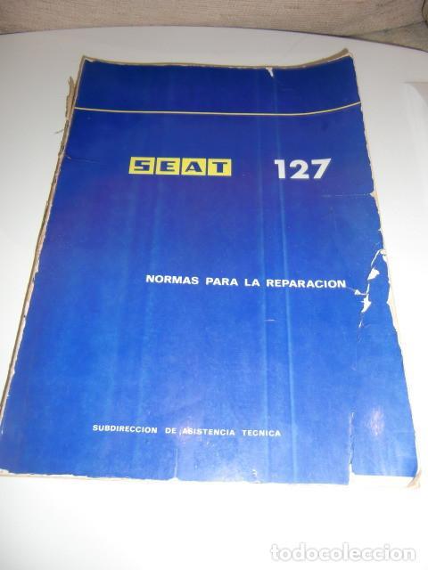 MANUAL SEAT 127 (Coches y Motocicletas Antiguas y Clásicas - Catálogos, Publicidad y Libros de mecánica)