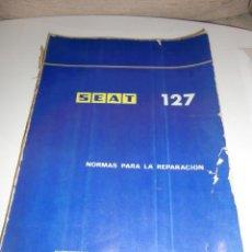 Coches y Motocicletas: MANUAL SEAT 127. Lote 222232726