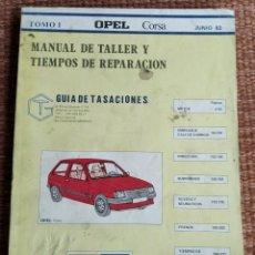 Coches y Motocicletas: OPEL CORSA - MANUAL DE TALLER - TOMO I - 1983. Lote 222307677