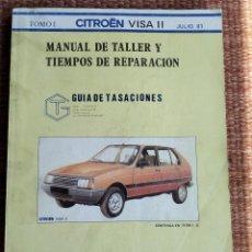 Coches y Motocicletas: CITROEN VISA II - MANUAL DE TALLER - TOMO I - 1981. Lote 222308203