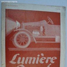 Coches y Motocicletas: 1914 REVISTA LA VIE AUTOMOBILE RARO. Lote 222311716