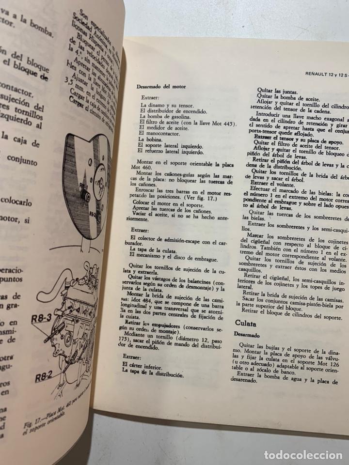 Coches y Motocicletas: Manual de reparaciones Reparauto Renault 12 y 12 s de 1975 - Foto 3 - 222317373