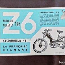 Coches y Motocicletas: Z6 CICLOMOTEUR Z6 LA FRANCAISE DIAMANT CICLOMOTEUR 48 CM3. Lote 222353423