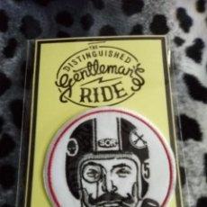 Coches y Motocicletas: PARCHE DISTINGUISHED GENTLEMANS RIDE - ROCKABILLY ROCKERS CAFE RACER BIKER VESPA LAMBRETTA. Lote 222357156
