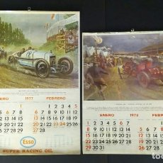 Coches y Motocicletas: FORD T 1914 GRAND PRIX CALENDARIOS AUTOS ANTIGUOS. Lote 222367600