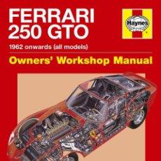 Coches y Motocicletas: FERRARI 250 GTO MANUAL HAYNES. Lote 222688035