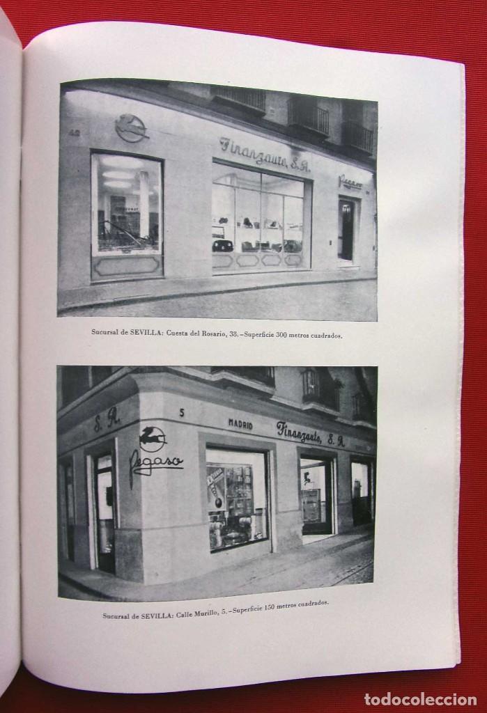 Coches y Motocicletas: MEMORIA FINANZAUTO PEGASO. AÑO: 1953. FOTOS EXPECTACULARES. ÚNICA EN VENTA. NUNCA VENDIDA. - Foto 3 - 223118508