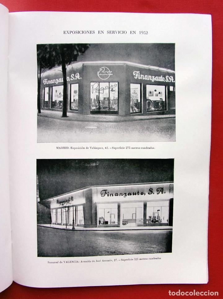 Coches y Motocicletas: MEMORIA FINANZAUTO PEGASO. AÑO: 1953. FOTOS EXPECTACULARES. ÚNICA EN VENTA. NUNCA VENDIDA. - Foto 4 - 223118508