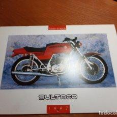 Coches y Motocicletas: BULTACO CALENDARIO DE CLUB. Lote 224550253