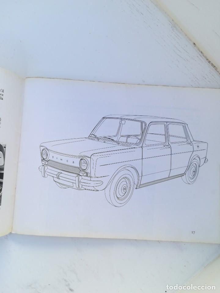Coches y Motocicletas: Manual simca 1000 - Foto 3 - 225987202