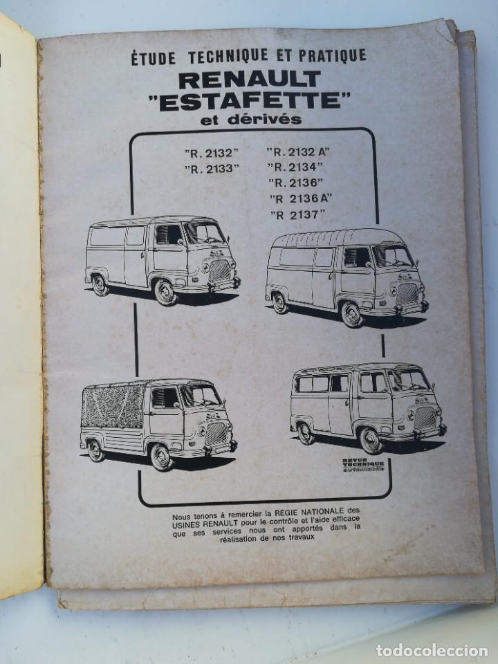 Coches y Motocicletas: Manual Renault Estafette - Foto 4 - 225988060