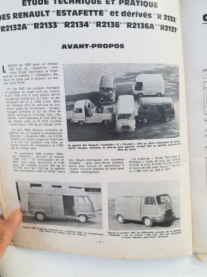Coches y Motocicletas: Manual Renault Estafette - Foto 5 - 225988060