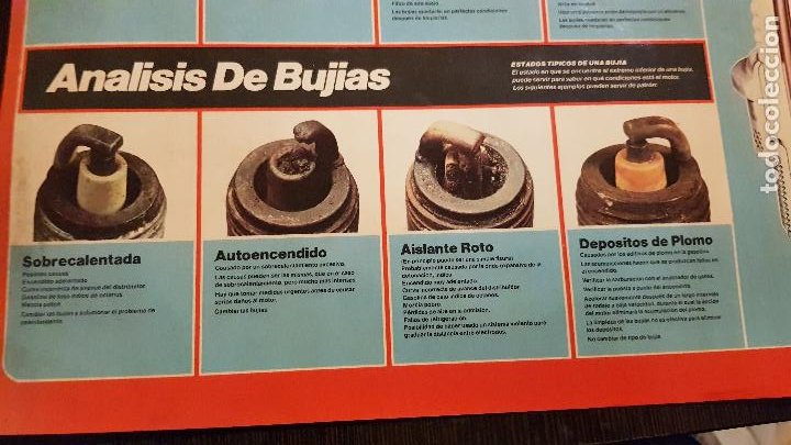 Coches y Motocicletas: CHAMPION-ANALISIS DE BUJIAS - Foto 2 - 226128471