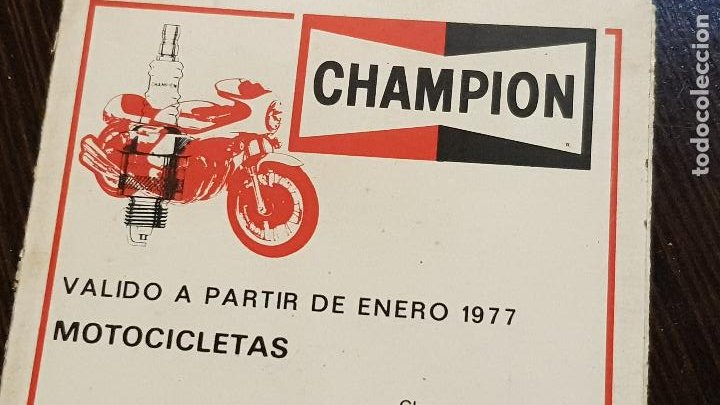 Coches y Motocicletas: CHAMPIONVALIDO A PARTIR DE 1977-MOTOCICLETAS - Foto 5 - 226128778
