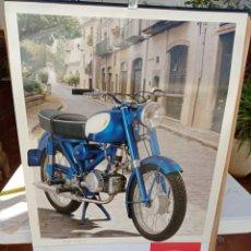 Coches y Motocicletas: MOTO RIEJU CALENDARIO POSTER COLECCIÓN MUSEO RIEJU. Lote 226239395