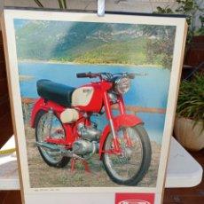 Coches y Motocicletas: MOTO RIEJU CALENDARIO POSTER COLECCIÓN MUSEO RIEJU. Lote 226240216