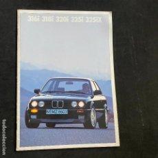 Carros e motociclos: CATALOGO FOLLETO PUBLICIDAD BMW 316I-318I-320I-325I-325IX DE 1989. Lote 226771715