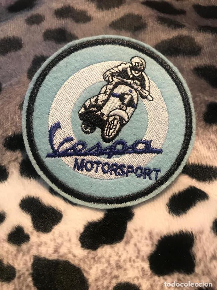 PARCHE BORDADO VESPA MOTORSPORT (Coches y Motocicletas Antiguas y Clásicas - Catálogos, Publicidad y Libros de mecánica)