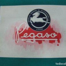 Coches y Motocicletas: PEGASO CAMION AUTOCAR MONOCASCO DIESEL - CATALOGO PUBLICIDAD ORIGINAL - AÑOS 40/50 - FRANCES. Lote 227155785