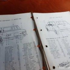 Coches y Motocicletas: SEAT 124. Lote 227784490
