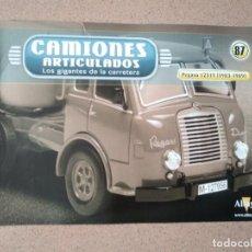 Coches y Motocicletas: FASCÍCULO 87 CAMIONES ARTICULADOS PEGASO 1231T (1983-1989) ALTAYA NUEVO. Lote 263019850