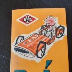 Coches y Motocicletas: ANTIGUA GUIA CAP DE ASISTENCIA Y PROTECCIÓN DE MARZO DE 1967. Lote 228421300