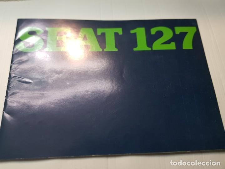 CATALOGO PUBLICIDAD SEAT 127 AÑO 1977 DE FISEAT (Coches y Motocicletas Antiguas y Clásicas - Catálogos, Publicidad y Libros de mecánica)