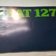Coches y Motocicletas: CATALOGO PUBLICIDAD SEAT 127 AÑO 1977 DE FISEAT. Lote 229582495