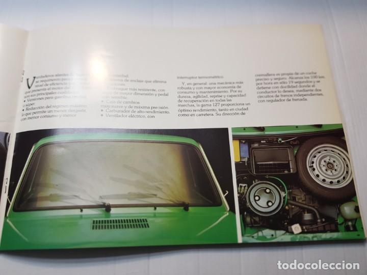 Coches y Motocicletas: Catalogo Publicidad Seat 127 año 1977 de Fiseat - Foto 3 - 229582495