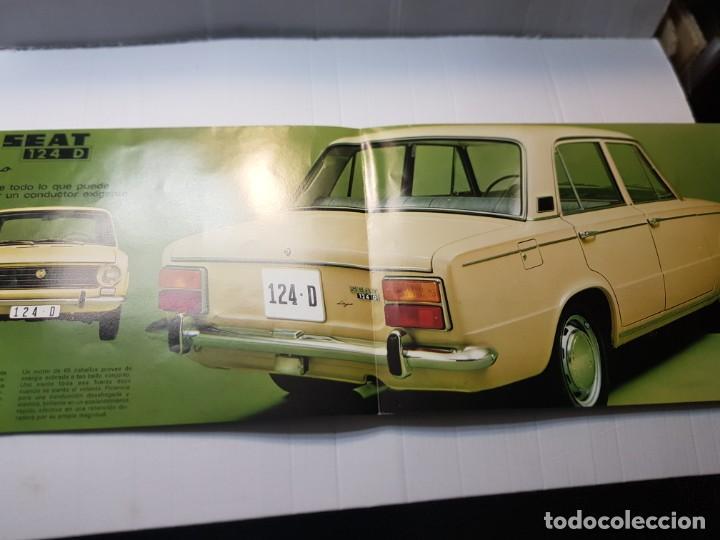 Coches y Motocicletas: Catalogo Publicidad Seat 124D año 1971 de Servicio Publicidad Seat - Foto 2 - 229584665