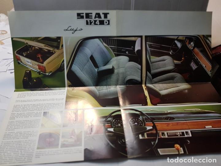 Coches y Motocicletas: Catalogo Publicidad Seat 124D año 1971 de Servicio Publicidad Seat - Foto 3 - 229584665