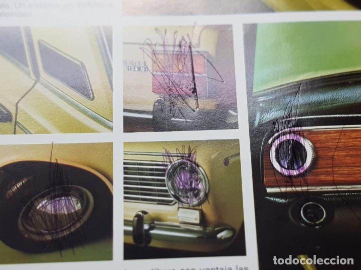 Coches y Motocicletas: Catalogo Publicidad Seat 124D año 1971 de Servicio Publicidad Seat - Foto 5 - 229584665