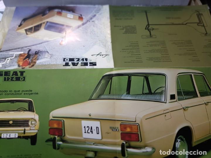 Coches y Motocicletas: Catalogo Publicidad Seat 124D año 1971 de Servicio Publicidad Seat - Foto 6 - 229584665