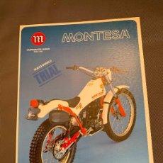Voitures et Motocyclettes: MOTO MONTESA COTA 349 CATALOGO PUBLICITARIO ORIGINAL 1981. Lote 229716890