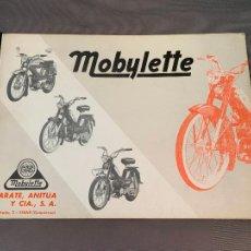 Coches y Motocicletas: MOBYLETTE GAC CATALOGO GENERAL DESPIECES ORIGINAL. Lote 229854140