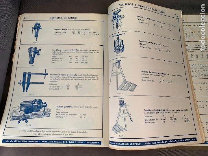 Coches y Motocicletas: EL ANCORA DE ORO LEOPOLD CATALOGO HERRAMIENTAS MAQUINARIA AUTOMOVILES AÑOS 50 - Foto 3 - 229889995