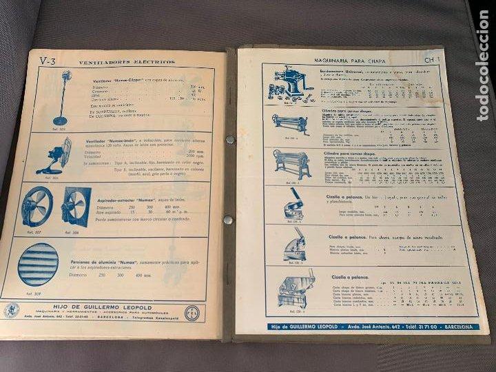 Coches y Motocicletas: EL ANCORA DE ORO LEOPOLD CATALOGO HERRAMIENTAS MAQUINARIA AUTOMOVILES AÑOS 50 - Foto 9 - 229889995