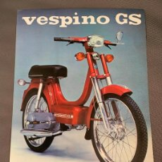 Coches y Motocicletas: MOTO VESPA VESPINO GS CICLOMOTOR CATALOGO ORIGINAL 1976. Lote 262087800