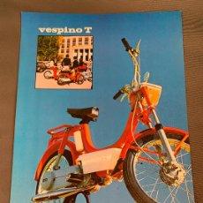 Coches y Motocicletas: MOTO VESPA VESPINO T CICLOMOTOR CATALOGO ORIGINAL 1975. Lote 230158755