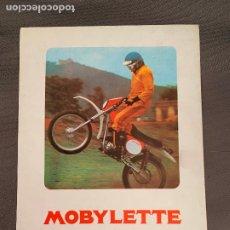 Coches y Motocicletas: MOBYLETTE MOBYCROSS CATALOGO ORIGINAL. Lote 257663390