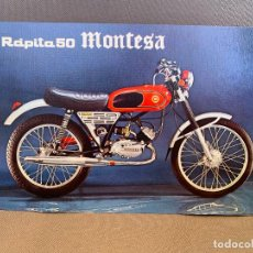 Coches y Motocicletas: MOTO MONTESA RAPITA 50 CATALOGO PUBLICITARIO ORIGINAL. Lote 245170850