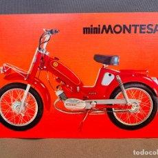 Coches y Motocicletas: MOTO MONTESA MINIMONTESA CATALOGO PUBLICITARIO ORIGINAL. Lote 245170805