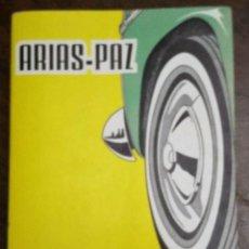 Coches y Motocicletas: MANUAL DE AUTOMÓVILES. ARIAS-PAZ. 40 EDICIÓN. 1973/74. EDITORIAL DOSSAT.. Lote 231071380