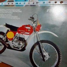 Coches y Motocicletas: BULTACO FRONTERA MK 10 CATALOGO ORIGINAL. Lote 278762163
